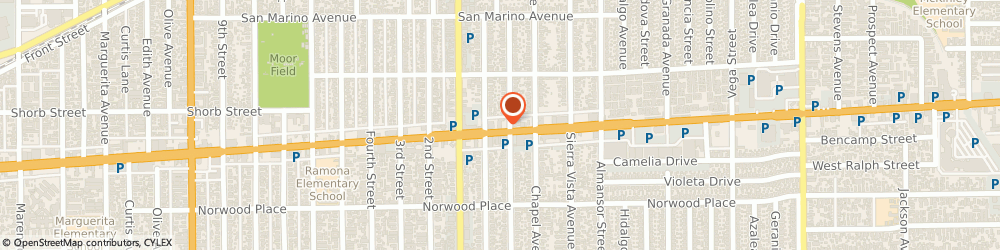 Route/map/directions to Mr Goods Donuts, 91801 Alhambra, 131 E Valley Blvd