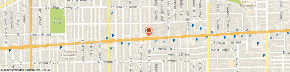 Route/map/directions to Washington Mutual-Financial Center, 91801 Alhambra, 401 E VALLEY BLVD