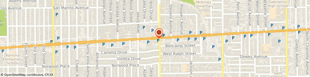 Route/map/directions to Sun Donuts, 91803 Alhambra, 2644 Valley Blvd
