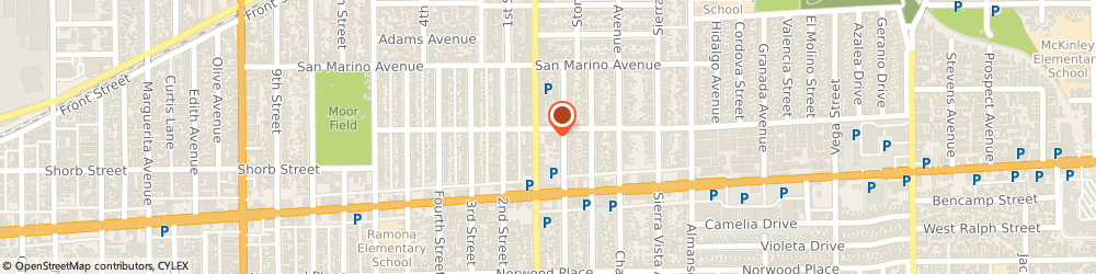 Route/map/directions to Navy Federal Credit Union ATM, 91801 Alhambra, 1200 S Garfield Ave