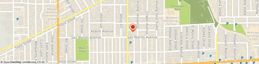 Route/map/directions to Bella Pelle Studio, 91801 Alhambra, 1028 S Garfield Ave