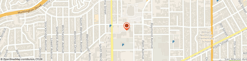 Route/map/directions to Bank of America, 91803 Alhambra, 2400 W COMMONWEALTH AVE