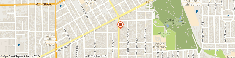 Route/map/directions to Safeco Insurance Agent, 91801-4481 Alhambra, 737 S Garfield Ave Ste B