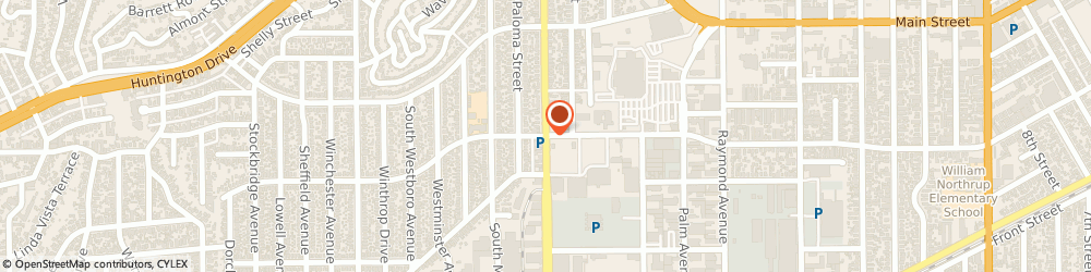 Route/map/directions to Yum Yum Donuts, 91801 Alhambra, 9 S Fremont Ave