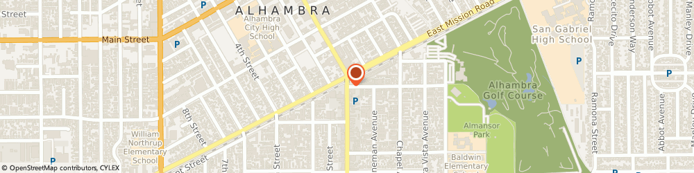 Route/map/directions to Hair Affair, 91801 Alhambra, 25 N Garfield Ave