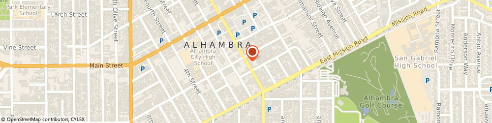 Route/map/directions to Hernia Network, 91801 Alhambra, 333 S Garfield Ave