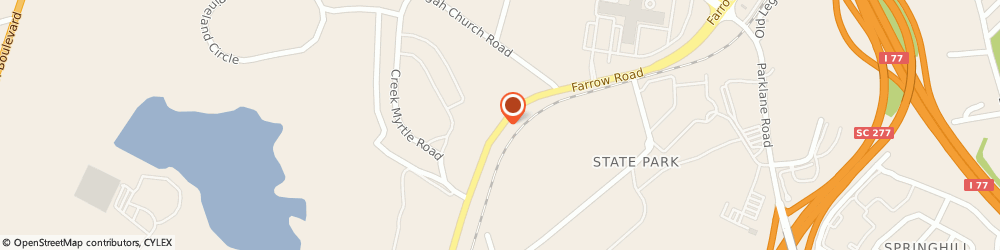 Route/map/directions to Allstate Insurance Co, 29203 Columbia, 8604 FARROW RD