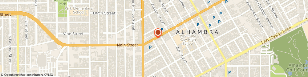 Route/map/directions to Atm Great Western Bank, 91801 Alhambra, 345 E Main St