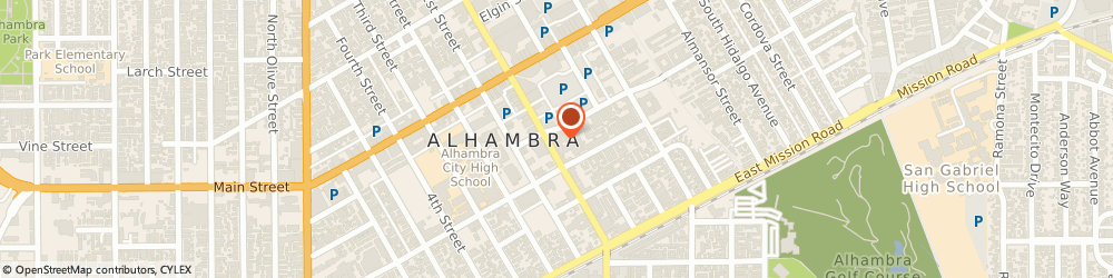 Route/map/directions to Kdcal Travel, 91801 Alhambra, 200 S Garfield Ave