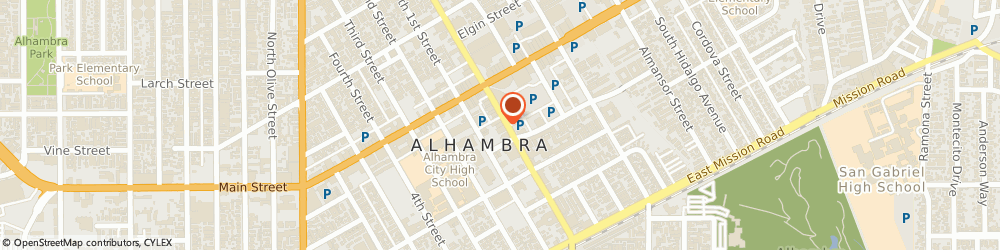 Route/map/directions to Michael Huang - AAA Capital Investment, 91801 Alhambra, 117 S Garfield Ave