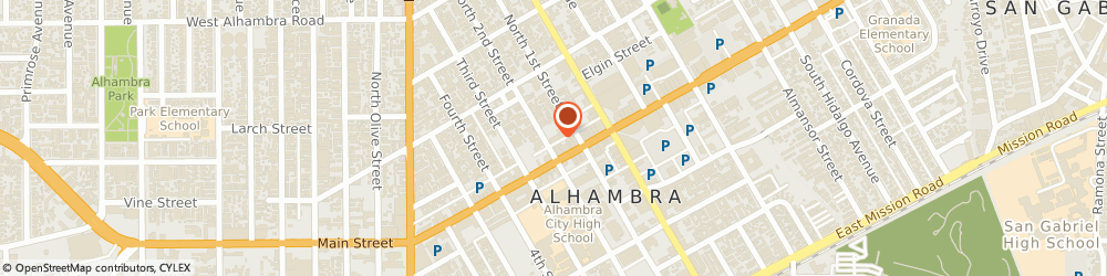 Route/map/directions to Safeco Insurance Agent, 91801-3435 Alhambra, 16 N 2Nd St