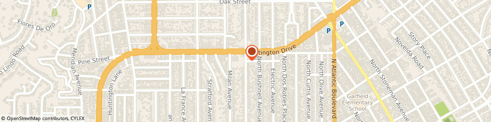 Route/map/directions to Wamiles Face Skin Care By Christine, 91030 South Pasadena, 1828 Fletcher Ave