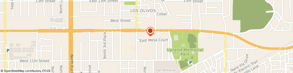 Route/map/directions to ROUND TABLE PIZZA, 91786 Upland, 830 E. Foothill Blvd., #5