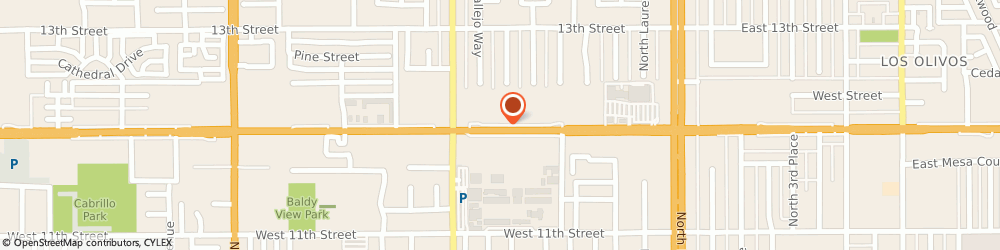 Route/map/directions to Little Caesars Pizza, 91786 Upland, 649 WEST FOOTHILL BOULEVARD