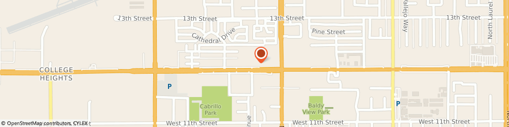 Route/map/directions to Domino's Pizza, 91786-3681 Upland, 1277 W Foothill Blvd