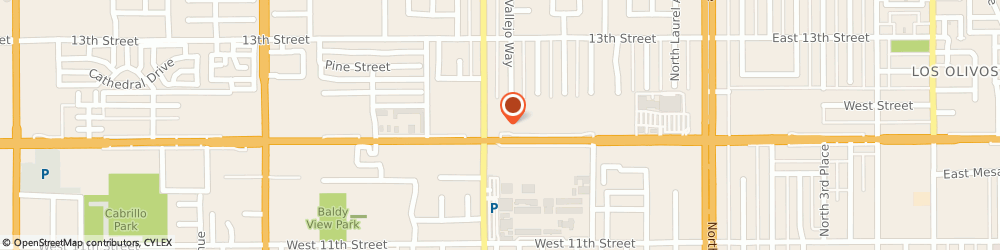Route/map/directions to Little Caesars Pizza, 91786 Upland, 733 W Foothill Blvd, Ste A