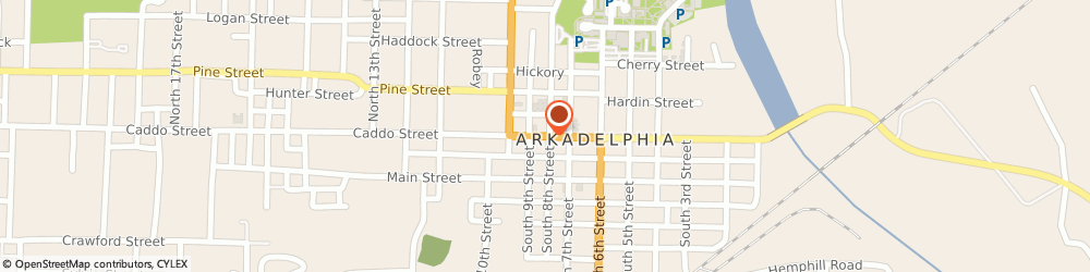 Route/map/directions to First United Methodist Church Of Arkadelphia - Youth Director, 71923 Arkadelphia, 814 CADDO STREET