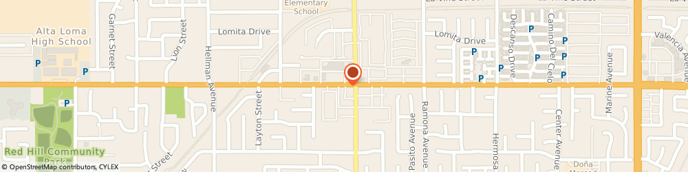 Route/map/directions to Exclusive Emages, 91730 Rancho Cucamonga, 9685 BASELINE ROAD
