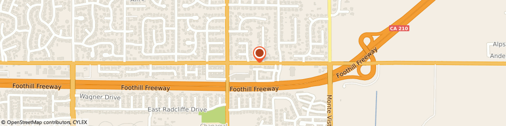 Route/map/directions to Baskin Robbins, 91711 Claremont, 602 E. Baseline Rd