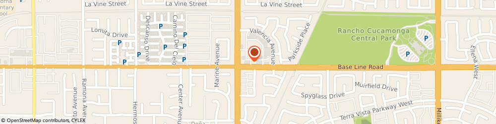 Route/map/directions to Starbucks Coffee Baseline & Haven,, 91701 Rancho Cucamonga, 10540 Baseline Road