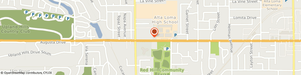 Route/map/directions to Check Into Cash, 91701 Rancho Cucamonga, 8810 Baseline Road