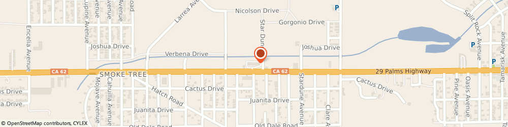 Route/map/directions to MOTEL 6 TWENTYNINE PALMS, 92277 Twentynine Palms, 72562 Twentynine Palms H