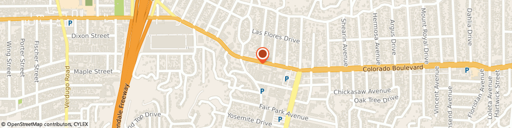 Route/map/directions to Kumon Math and Reading Center of Eagle Rock, 90041 Los Angeles, 2352 Colorado Boulevard