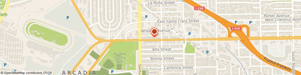Route/map/directions to Hanning & Sacchetto, LLP, 91006 Arcadia, 33 East Huntington Drive, Suite A