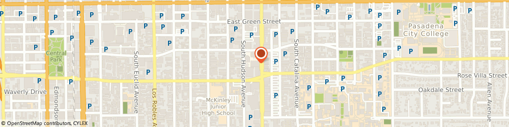 Route/map/directions to Binder & Associates, 91101 Pasadena, 251 S Lake Ave