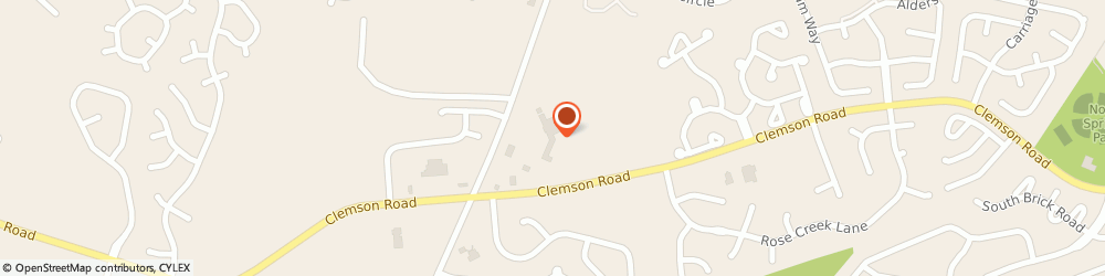 Route/map/directions to Trey Cantey: Allstate Insurance, 29229 Columbia, 2000 Clemson Rd