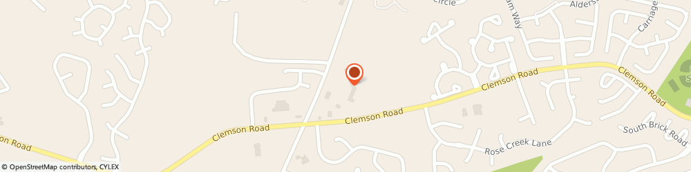 Route/map/directions to Bank of America, 29229 Columbia, 2000 CLEMSON RD