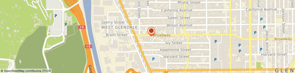 Route/map/directions to Primerica Gurmeet Bazaz, 91204 Glendale, 706 West Broadway Ste 202