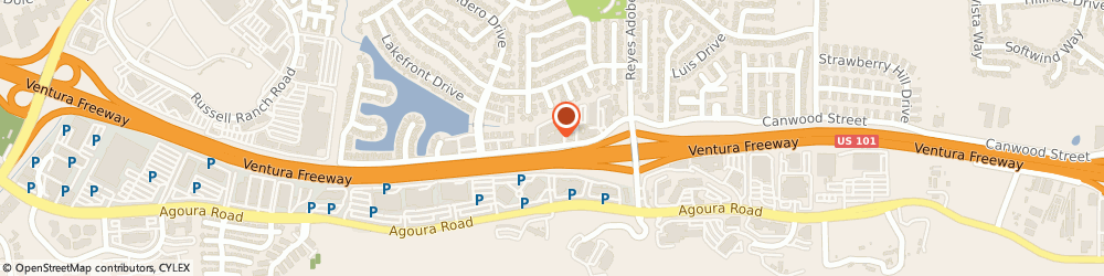 Route/map/directions to Farmers Insurance - Cheryl Meyer, 91301 Agoura Hills, 30423 Canwood St