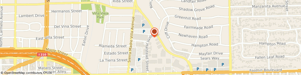 Route/map/directions to Pnc, 91107 Pasadena, 465 N HALSTEAD ST STE 110