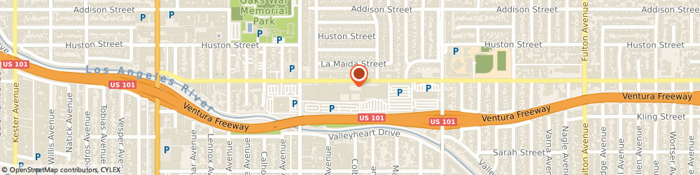 Route/map/directions to J.Crew, 91423 Sherman Oaks, 14006 Riverside Dr