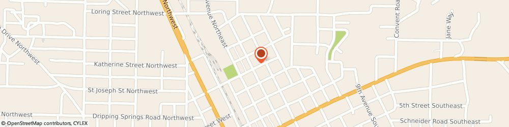 Route/map/directions to Grace Episcopal Church, 35055 Cullman, 305 Arnold St Ne