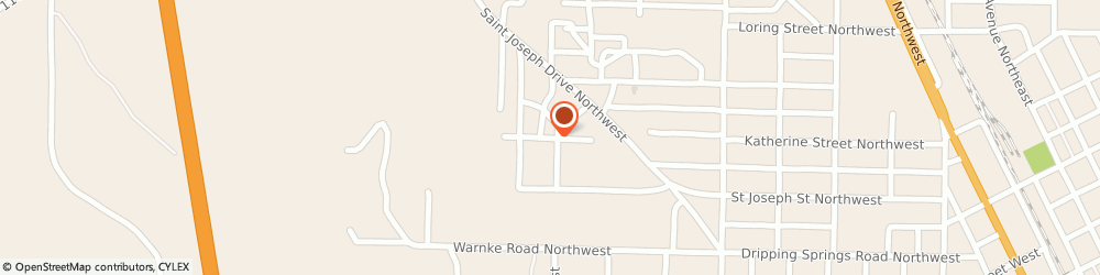 Route/map/directions to Northside Baptist Church, 35055 Cullman, 1310 Katherine St NW