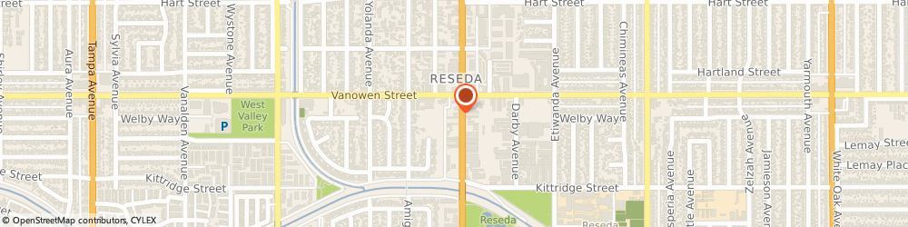 Route/map/directions to Taco Bell, 91335 Reseda, 6733 Reseda Blvd