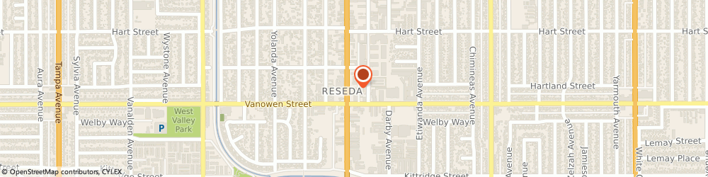 Route/map/directions to Jack in the Box, 91335 Reseda, 6820 Reseda Blvd