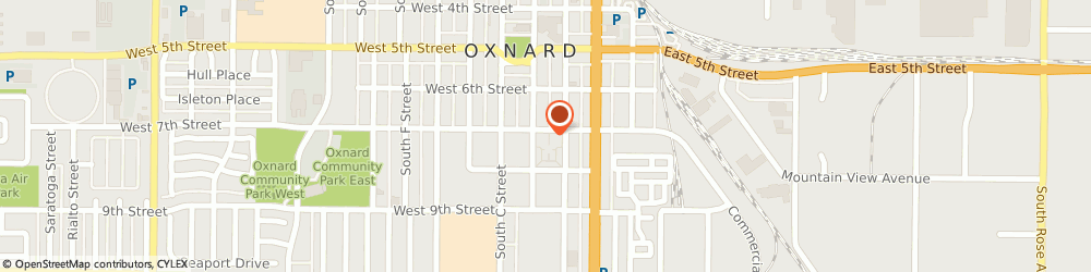 Route/map/directions to Kl Associates, 93030 Oxnard, 220 WEST 7TH STREET
