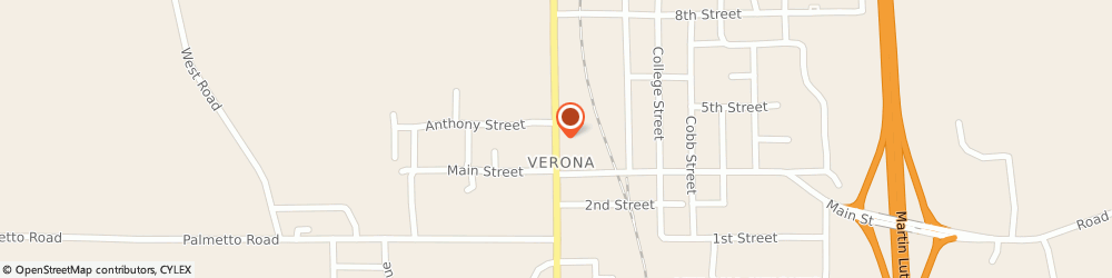 Route/map/directions to U-Haul Co., 38879 Verona, 4990 RAYMOND AVE