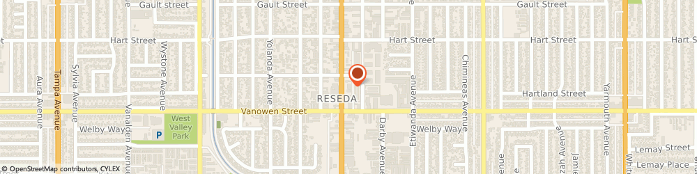 Route/map/directions to Domino's Pizza, 91335-8509 Reseda, 6846 Reseda Blvd