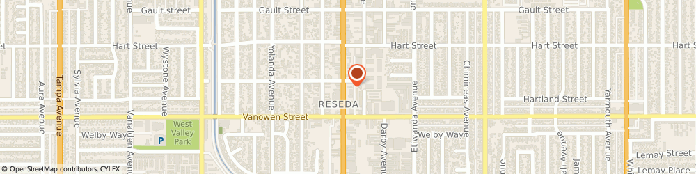 Route/map/directions to Arby's, 91335-4204 Reseda, 6850 Reseda Blvd