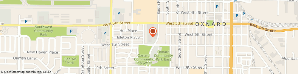 Route/map/directions to Lin James Dr Md, 93030 Oxnard, 981 WEST 7TH STREET