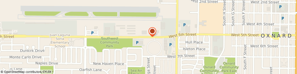 Route/map/directions to Franz Michel, MD, 93030 Oxnard, 461 West 5th Street