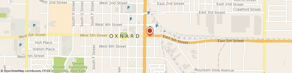 Route/map/directions to Marybels Travel, 93030 Oxnard, 108 WEST 5TH STREET