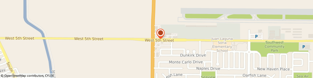 Route/map/directions to Prudential California Realty, 93030 Oxnard, 3601 WEST 5TH STREET