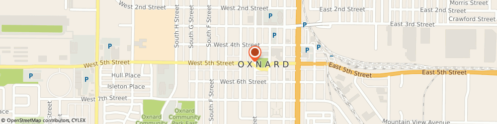 Route/map/directions to Chang Wholistic Clinic, 93030 Oxnard, 445 WEST 5TH STREET