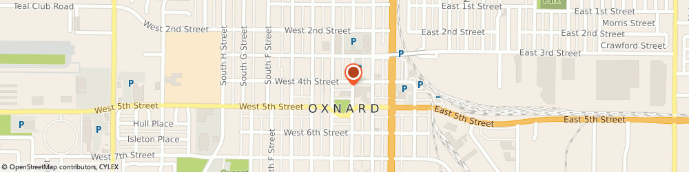 Route/map/directions to Nelson Mary, 93030 Oxnard, 314 WEST 4TH STREET