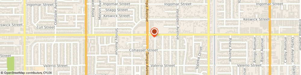 Route/map/directions to Ameci Pizza & Pasta Reseda, 91335 Reseda, 7550 Tampa Ave # G